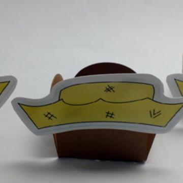 Forminhas para Doces Chapéu de palha
