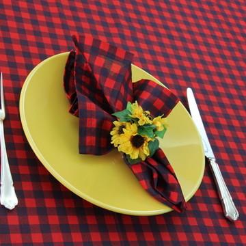 Toalha de mesa retangular Xadrez pequeno