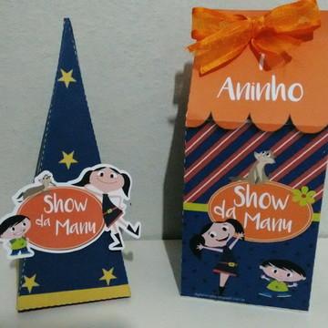 Kit de caixas show da Luna