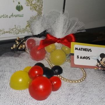 Lembrancinha Sabonete Orelhas Mickey