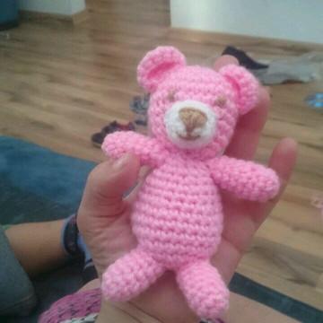 Urso de croche amigurumi newborn