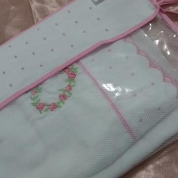 Saco maternidade com kit toalha