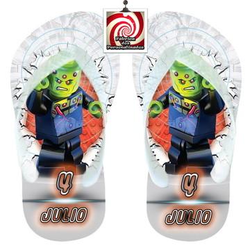 Sandália com nome Lego Batman Diversas