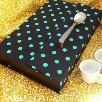 porta capsulas Nespresso-poa azul