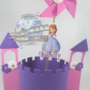 Centro de mesa princesinha Sophia