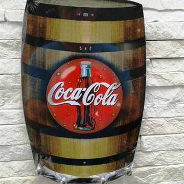 Porta Chaves Barril Coca