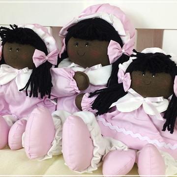 Trio de bonecas para nicho menina
