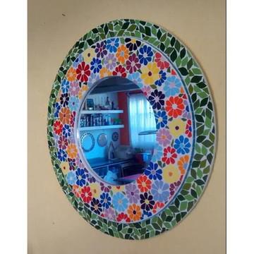 Espelho Floral