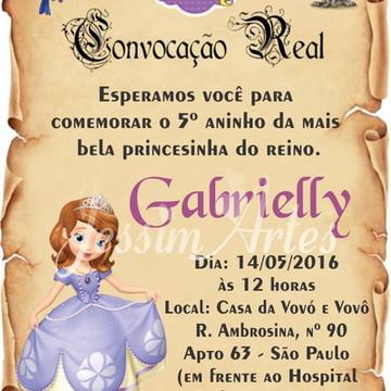 Convite Digital Pergaminho
