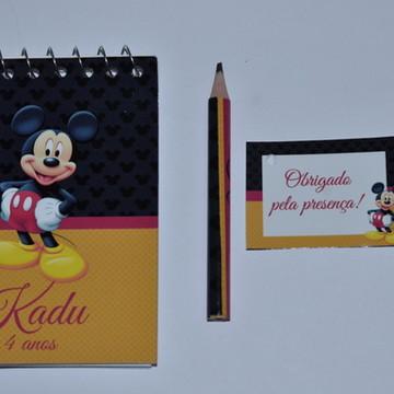 Bloquinho Personalizado Mickey
