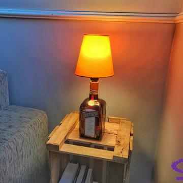 Abajur de garrafa Cointreau