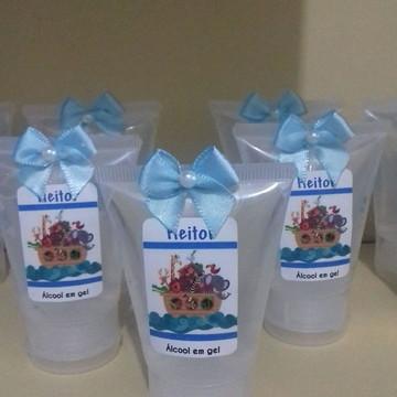 Bisnagas álcool em gel personalizadas