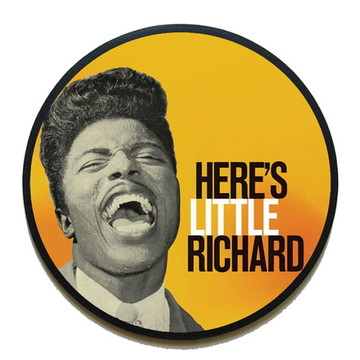 Quadro redondo Little Richard