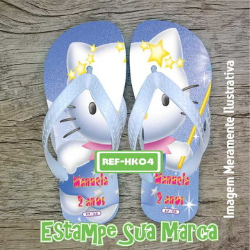CHINELO PERSONALIZADO HELLO KITTY