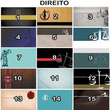 Arte Digital Cartão de Visita Direito