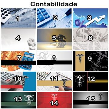 Arte Digital Cartão de Visita Contabilid