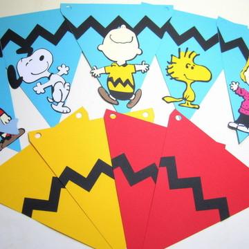 Bandeirinha Snoopy