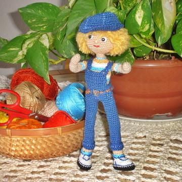 Amigurumi - boneco em crochê