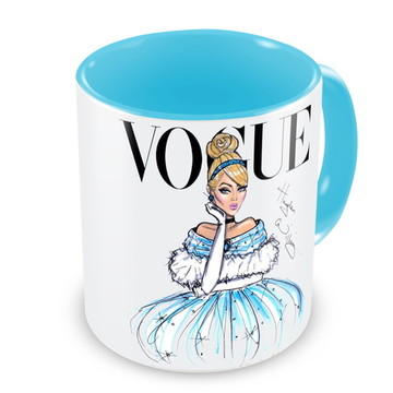 Caneca Princesa Cinderela by Vogue