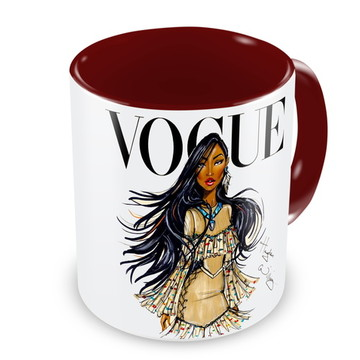 Caneca Princesa Pocahontas by Vogue
