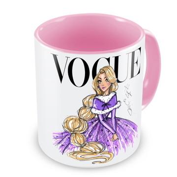 Caneca Princesa Rapunzel by Vogue