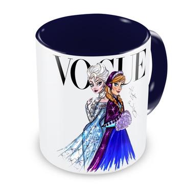 Caneca Princesas Frozen by Vogue