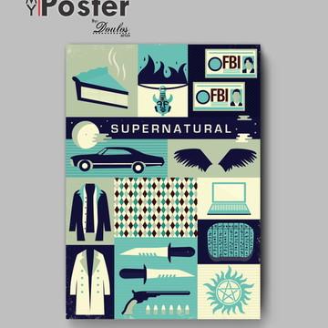 Poster série - SUPERNATURAL