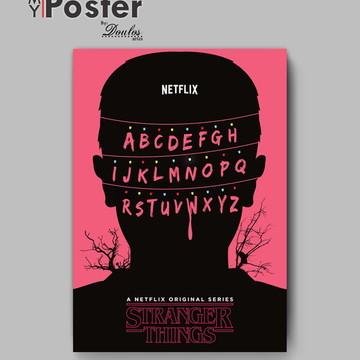 Poster série - STRANGER THINGS