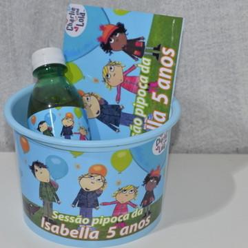 Kit Cinema Personalizado Charlie e Lola