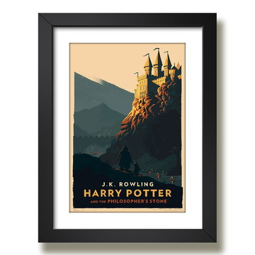 Quadro harry potter 45x35cm Paspatur