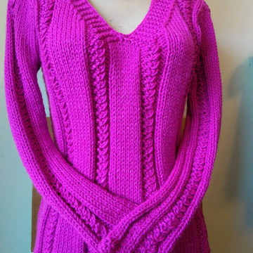 Blusa trico feminina