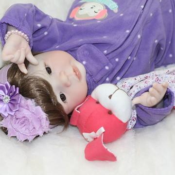 Boneca Bebê Reborn Mylian