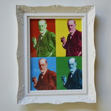 Quadro Freud Pop Art