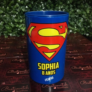 Cofre Super Homem Super Man