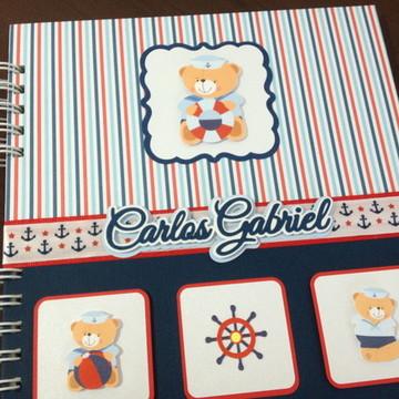 Diário do Bebê - Urso Marinheiro