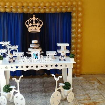 Locação Decoração Chá de Bebe Urso Rei