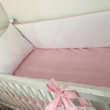 Kit Berço rosa- 4 peças