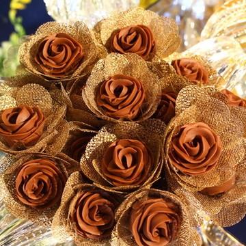 Forminhas de Tecido -Flor Larissa