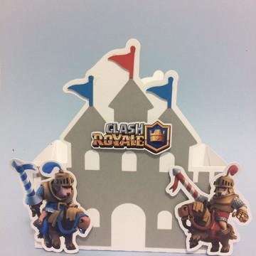 Caixa castelo clash royale