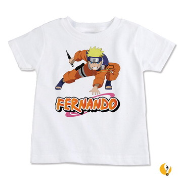 Camiseta Infantil personalizada | Naruto