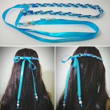 Headband Azul Mod. 09