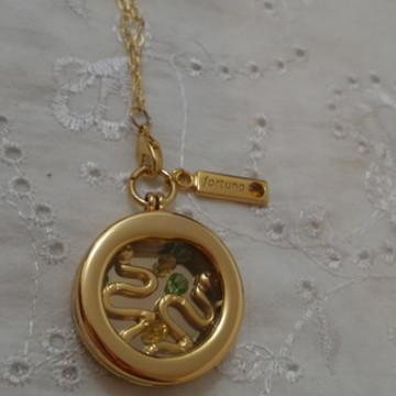 Relicário Oxumaré Dourado