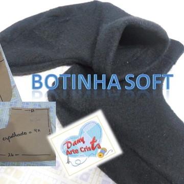 Moldes e projeto Botinha Soft