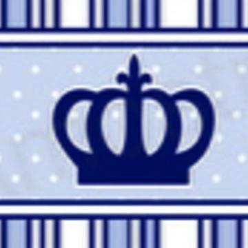 Faixa Adesiva Coroa Azul