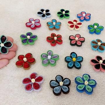 Flor de 5 pétalas - Duas cores