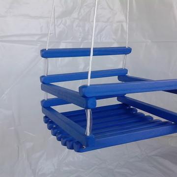 Balanço de madeira 35x35 até 6 anos