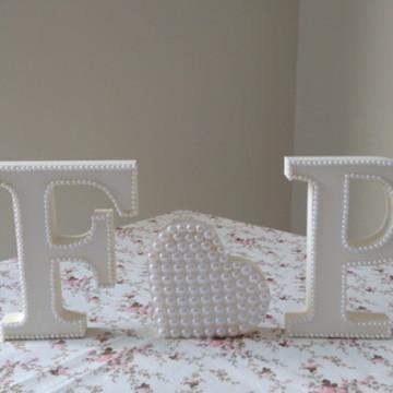 Letras para decorar noivado/casamento