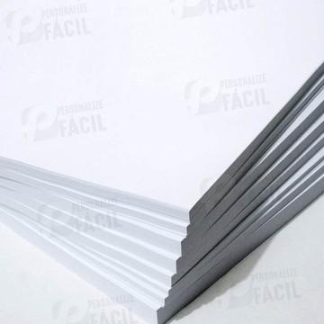 Papel Couchê Brilho ou Fosco A4 90g - 100 Folhas Laser
