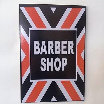 Quadro Decorativo Vintage Barbearia
