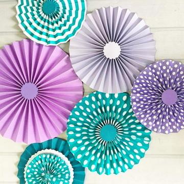 Fioratas Painel LUXO Purple Renda e Flor
